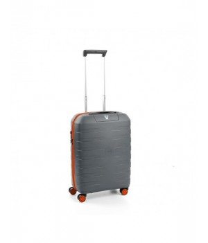 RONCATO BOX YOUNG CABIN TROLLEY 55 x 40 x 20 CM ORANGE/GREY