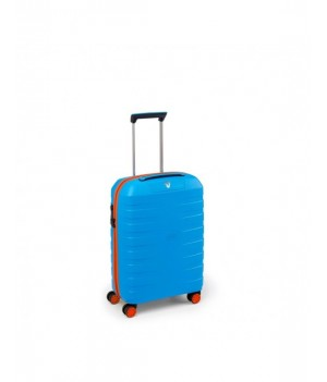 RONCATO BOX YOUNG CABIN TROLLEY 55 x 40 x 20 CM ORANGE/ELECTRIC BLUE