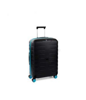 RONCATO BOX YOUNG TROLLEY MEDIO AZZURRO/NERO