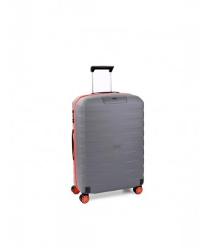 RONCATO BOX YOUNG TROLLEY MEDIO ARANCIO/PIOMBO