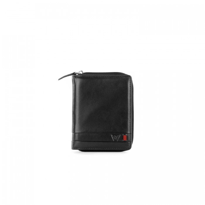 RONCATO RIO WALLET WITH COIN HOLDER ANTHRACITE