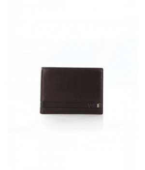 RONCATO RIO WALLET WITH COIN HOLDER BROWN