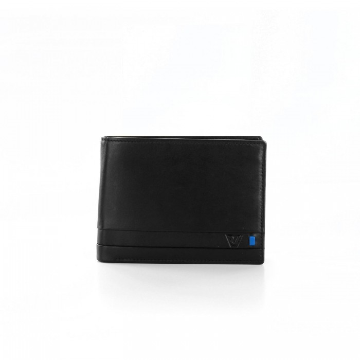 RONCATO RIO WALLET WITH COIN HOLDER BLACK