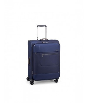 RONCATO SIDETRACK MEDIUM TROLLEY EXPANDABLE 63 CM WITH TSA DARK BLUE