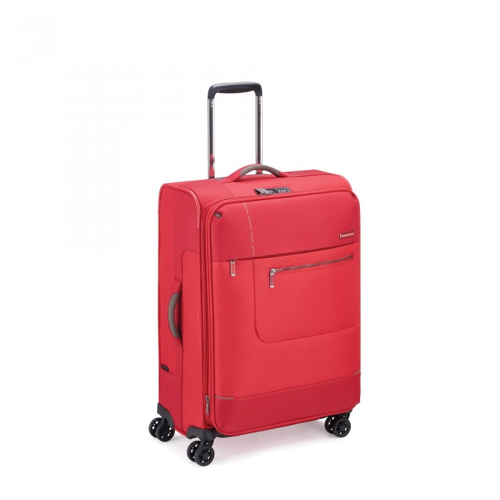 RONCATO SIDETRACK MEDIUM TROLLEY EXPANDABLE 63 CM WITH TSA RED