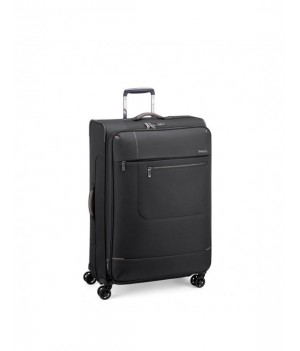 RONCATO SIDETRACK LARGE TROLLEY EXPANDABLE 75 CM WITH TSA BLACK
