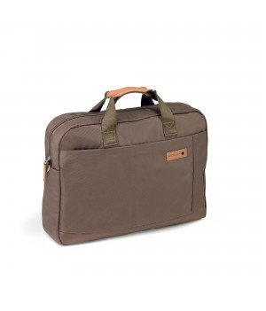 RONCATO SAHARA LAPTOP BAG WITH COMPARTMENT FOR PC 15,6' AND TABLET 10' BROWN