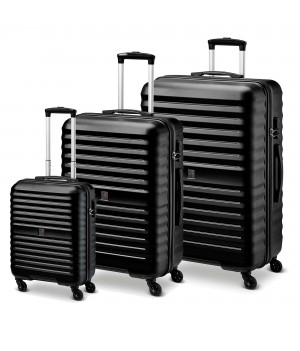 MODO by Roncato VENUS LUGGAGE SET 3 BLACK