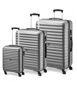 MODO by Roncato VENUS LUGGAGE SET 3 SILVER
