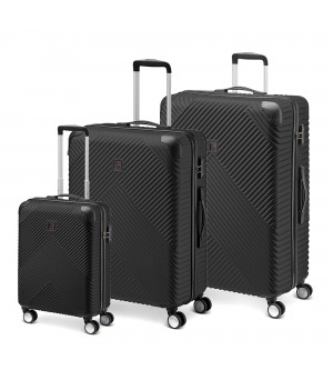 MODO by Roncato PANDORA LUGGAGE SET 3 BLACK
