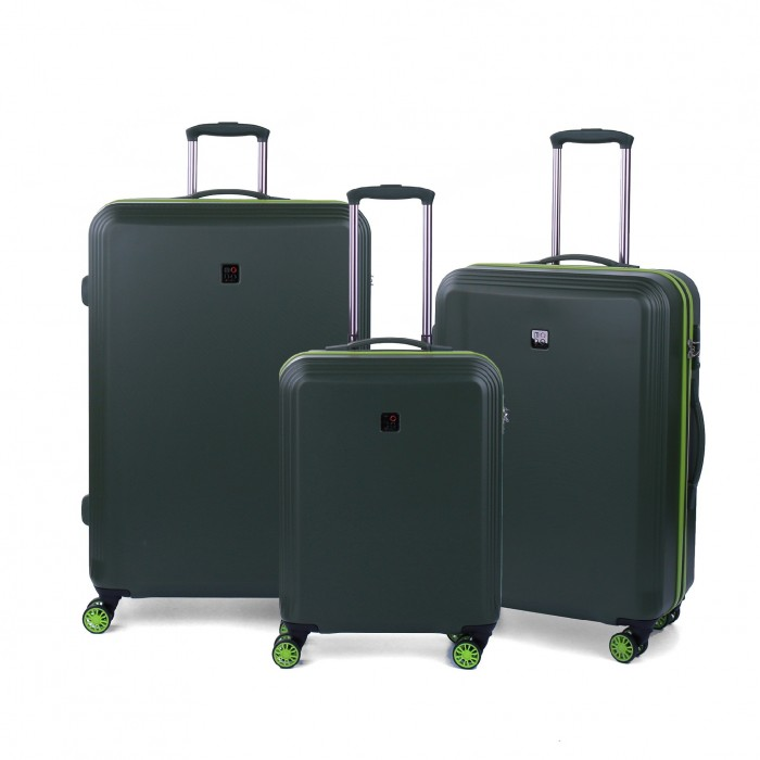 MODO by Roncato SUNNY LUGGAGE SET 3 MILITAR GREEN
