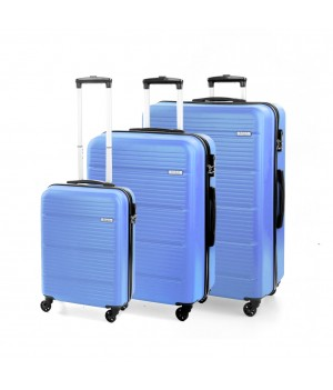 MODO by Roncato JUMP LUGGAGE SET 3 BLUE