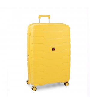RONCATO SKYLINE LARGE SPINNER EXPANDABLE 79 CM LEMON