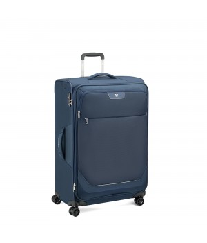 RONCATO JOY LARGE TROLLEY EXPANDABLE 75 CM WITH TSA DARK BLUE