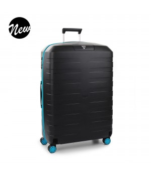 RONCATO BOX YOUNG TROLLEY GRANDE AZZURRO/NERO