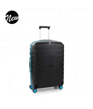 RONCATO BOX YOUNG TROLLEY MEDIO AZZURRRO/NERO