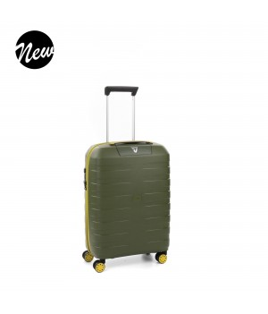 RONCATO BOX YOUNG CARRY-ON SPINNER 55 CM KIWI
