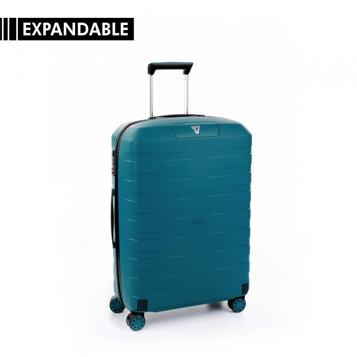 RONCATO BOX 4.0 TROLLEY MEDIO BLU DENIM