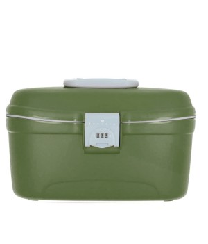 RONCATO LIGHT HARDSIDE BEAUTY CASE MILITAR GREEN