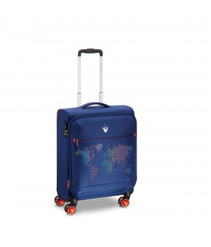 RONCATO LITE PRINT Carry-On Spinner erweiterbar 55 x 40 x 20/25 cm