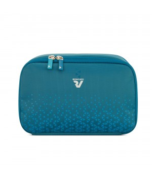 RONCATO CROSSLITE BEAUTY CASE PETROLIO