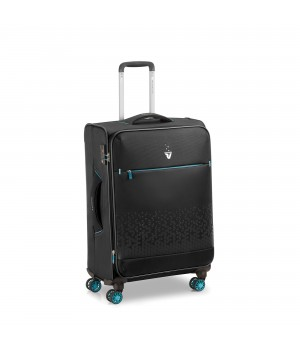 RONCATO CROSSLITE TROLLEY MEDIO NERO