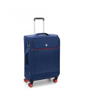 RONCATO CROSSLITE TROLLEY MEDIO BLU