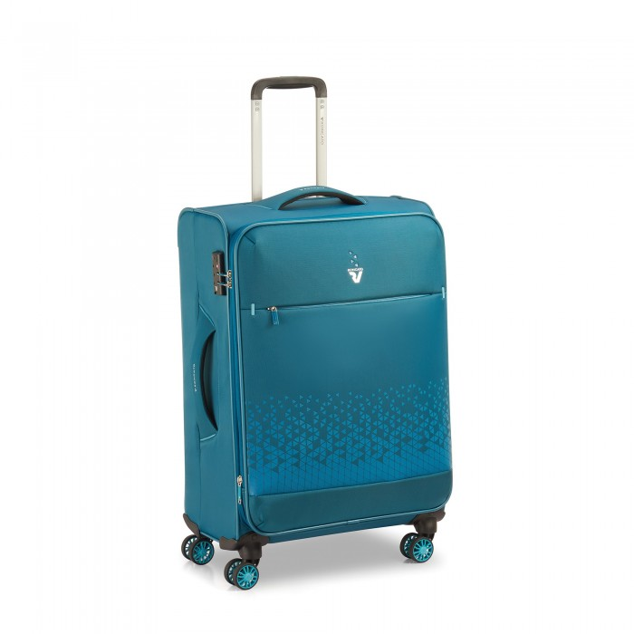 RONCATO CROSSLITE TROLLEY MEDIO PETROLIO