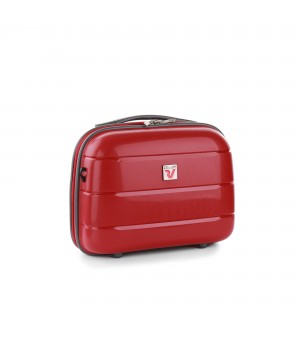 RONCATO FLIGHT DLX BEAUTY CASE ROSSO SCURO