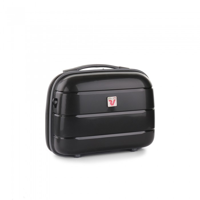 RONCATO FLIGHT DLX BEAUTY CASE NERO