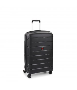 RONCATO FLIGHT DLX TROLLEY MEDIO ESPANDIBILE 71 CM NERO