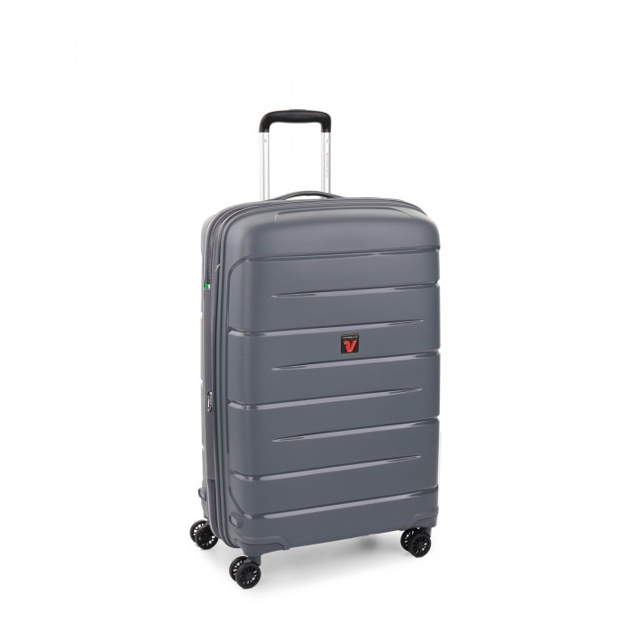 RONCATO FLIGHT DLX TROLLEY MEDIO ESPANDIBILE 71 CMANTRACITE