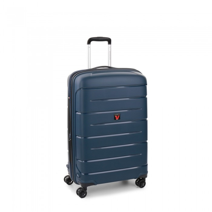 RONCATO FLIGHT DLX TROLLEY MEDIO ESPANDIBILE 71 CMBLU NOTTE
