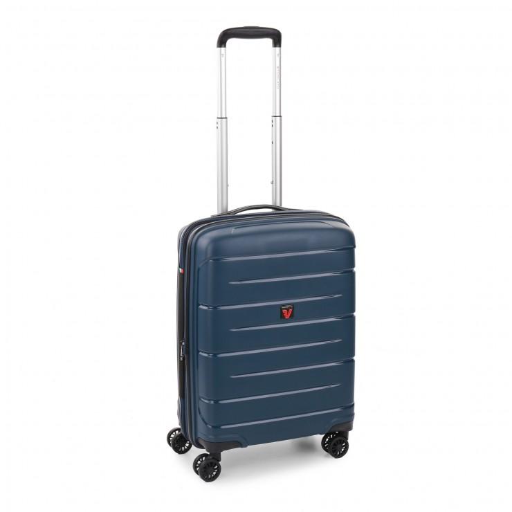 RONCATO FLIGHT DLX TROLLEY CABINA ESPANDIBILE 55 x 40 x 20/25 CMBLU NOTTE