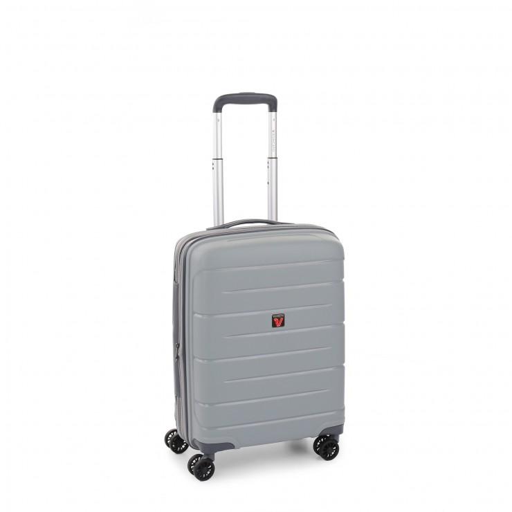 RONCATO FLIGHT DLX TROLLEY CABINA ESPANDIBILE 55 x 40 x 20/25 CM SILVER
