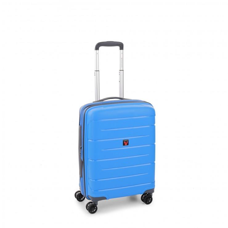 RONCATO FLIGHT DLX TROLLEY CABINA ESPANDIBILE 55 x 40 x 20/25 CMCELESTE