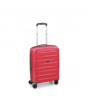 RONCATO FLIGHT DLX TROLLEY CABINA ESPANDIBILE 55 x 40 x 20/25 CM ROSSO SCURO