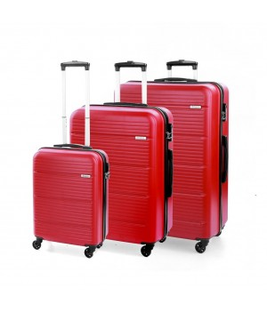 MODO by Roncato JUMP LUGGAGE SET 3 RED