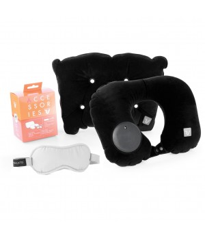 SMART TRAVEL PACK TRAVEL PILLOW WITH SLEEP MASK