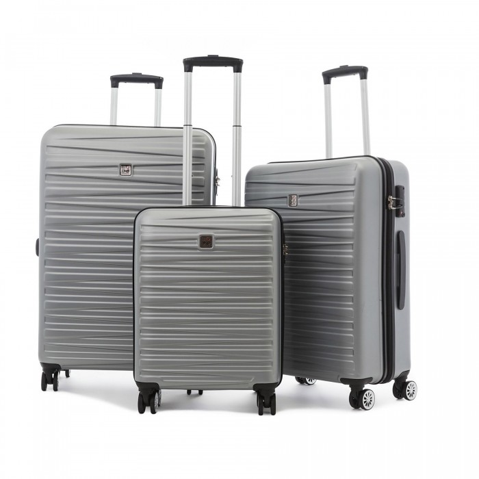 MODO by Roncato HOUSTON LUGGAGE SET 3 SILVER