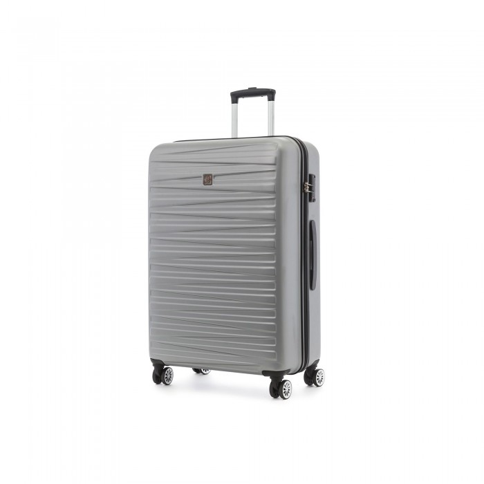 MODO by Roncato HOUSTON GROSSE KOFFER 76 CM SILBER