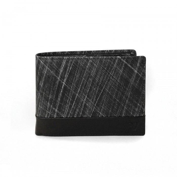RONCATO CAIRO TECH WALLET RFID WITH COIN HOLDER WITH RFID BLACK
