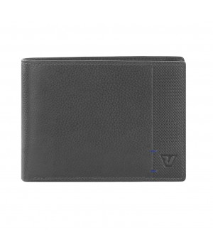 RONCATO SANTOS WALLET WITH CREDIT CARDS HOLDER ANTHRACITE