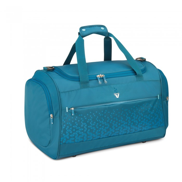 RONCATO CROSSLITE MEDIUM DUFFLE 60 L LIGHT BLUE