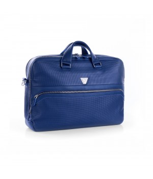 RONCATO BRAVE 15.6' LAPTOP BAG WITH 2 COMPARTMENTS BLUE