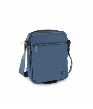 RONCATO BROOKLYN REVIVE TRACOLLINA 2 COMPARTI DENIM