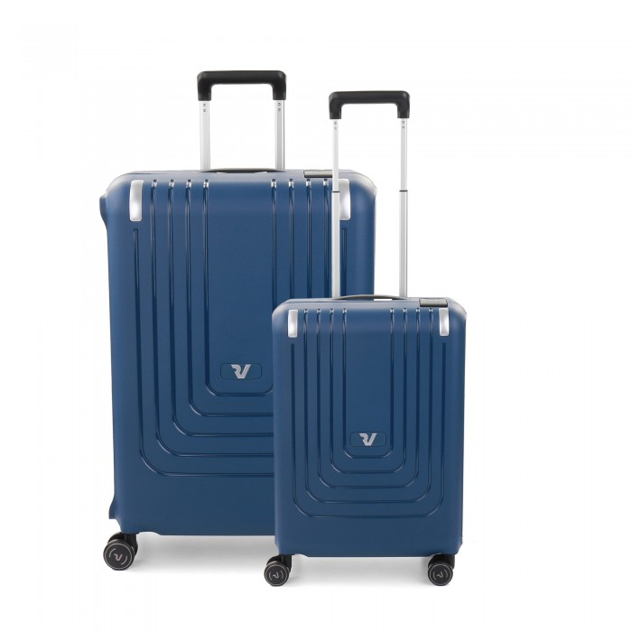 RONCATO NEXUS SET 2 SPINNER (MEDIUM + CARRY-ON) DARK BLUE