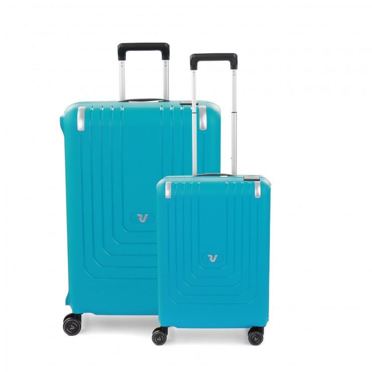 RONCATO NEXUS koffersets ( 68 CM + 55 CM) SKY