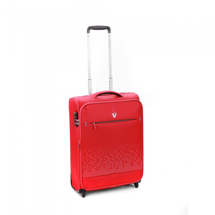 RONCATO CROSSLITE CABIN TROLLEY EXPANDABLE 55 x 40 x 20/23 CM RED