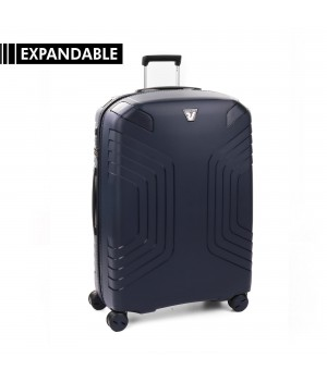 RONCATO YPSILON LARGE TROLLEY 78 CM EXPANDABLE DARK BLUE